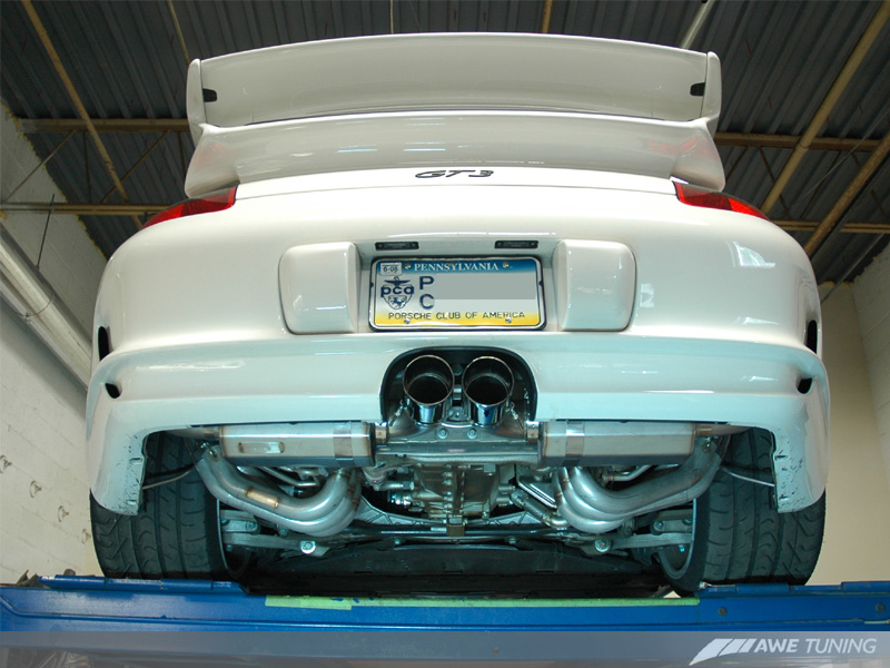 Awe Tuning Gt3 Exhaust Sneak Peek Rennlist Porsche