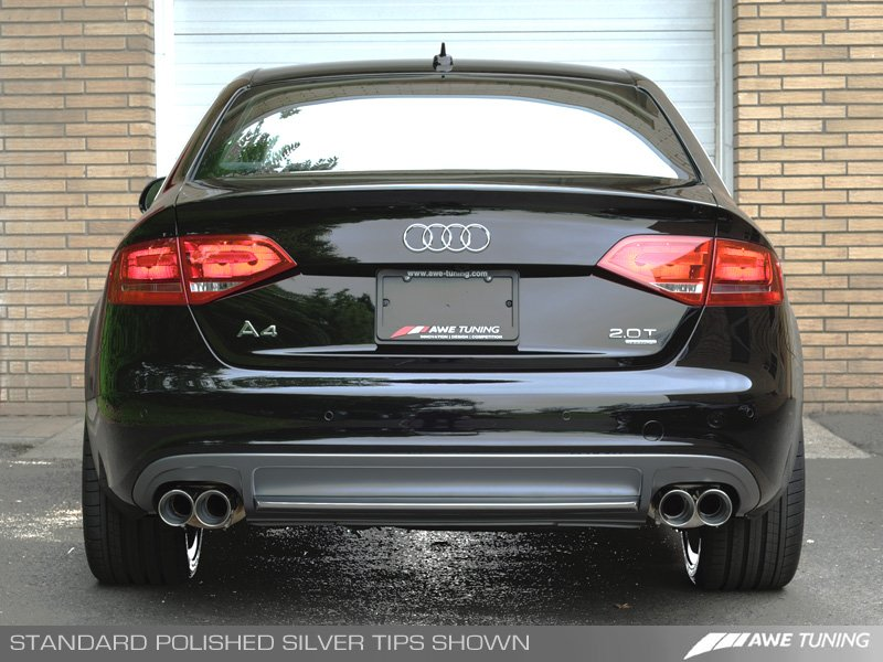 Launch Alert A W E Releases B8 A4 Exhaust System